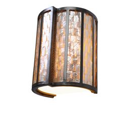 Affinity Sustainable One Light Sconce in New Bronze