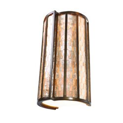 Affinity Sustainable Two Light Sconce in New Bronze