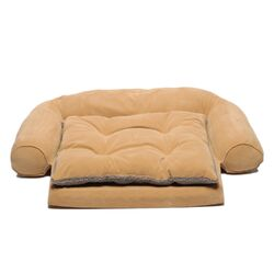 Ortho Sleeper Comfort Couch� Dog Bed in Caramel