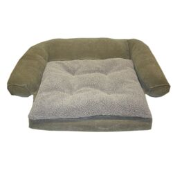 Ortho Sleeper Comfort Couch� Dog Bed in Moss