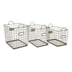 Newbridge Wire Storage Baskets