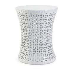 Huff Cutwork Garden Stool