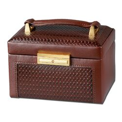 Paris Weave Medium Jewelry Box
