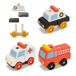 Stacking Emergency Vehicles Set