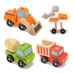 Stacking Construction Vehicle Set