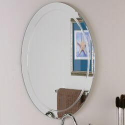 Frameless Aldo Wall Mirror