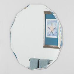 Frameless Diamond Wall Mirror