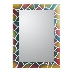 AbstrDCR1032act Frameless Wall Mirror