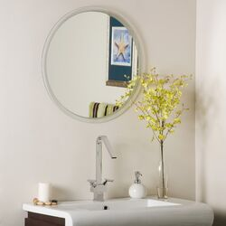 Frameless Beveled Karnia Mirror