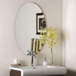 Frameless Jaxon Wall Mirror