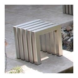 Linear End Table