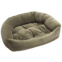 Ripple Velour Napper Bed