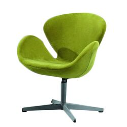 Swan Swivel Side Chair