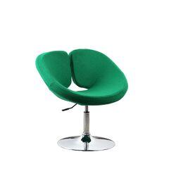 Pluto Adjustable Leisure Fabric Side Chair