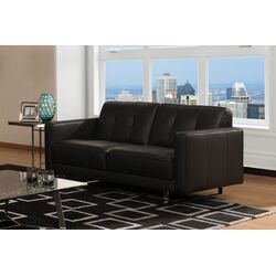 Sofas To Go Lincoln Leather Sofa Amp Reviews Wayfair
