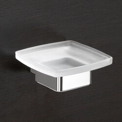 Lounge Wall Mounted Soap Dish in Chrome