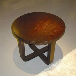 Olive End Table