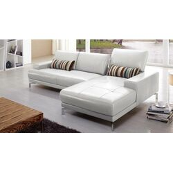 Urban Leather Right- Chaise Sectional