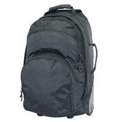 Multi-Pocket Wheel Backpack