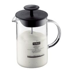 8 oz. Milk Frother with Glass Handle
