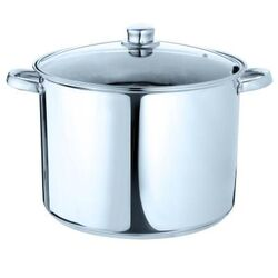 Pure Intentions 12-qt Stock Pot with Lid
