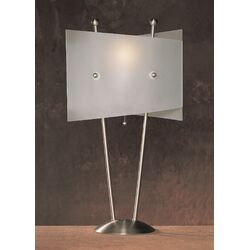 Metal Table Lamp in Chrome