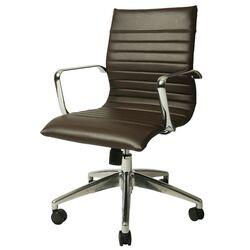 Janette High-Back Office Chair with Arms