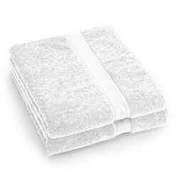 Supreme Egyptian Cotton Bath Sheet in White (Set of 2)