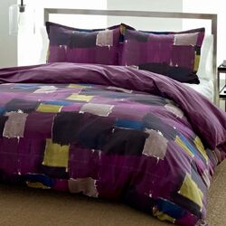Color Block Comforter Set