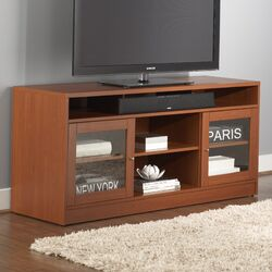Jesper Office 1632029 TV Stand with Soundbar Shelf