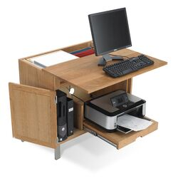 Woodland All in 1 Computer Armoire Desk
