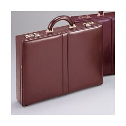 Top Grain Leather Attache Case