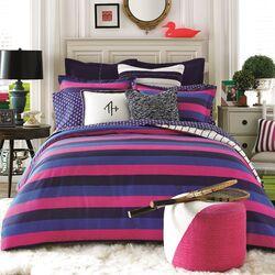 Varsity Stripe Comforter Set