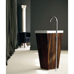 WS Bath Collections Linea Single Free Standing 35.4