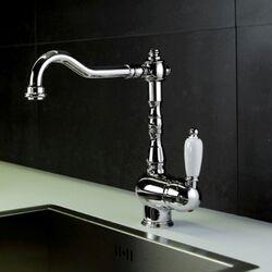 Melissa Countertop Single Handle Single Hole Mount Sink Bar Faucet with Swivel Spout