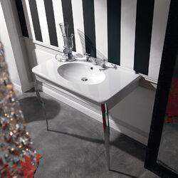 Free Standing Pedestal Sink : ... Kerasan Retro Free Standing Bathroom Pedestal Sink & Reviews Wayfair