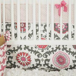 Ragamuffin 2 Piece Crib Bedding Set