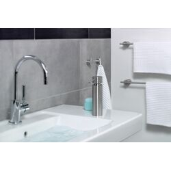 Duo Bathroom Accessories Set-Duo Glass Shelf, Wall-Mounted