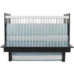 Raindrops 3 Piece Crib Set in Aqua