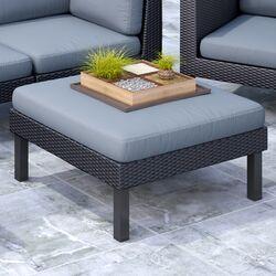 Oakland Patio Ottoman with Cushion