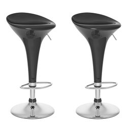 CorLiving Form Fitted Adjustable Height Bar Stool