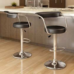 CorLiving Adjustable Height Bar Stool