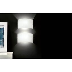 Slim Wall Sconce in White