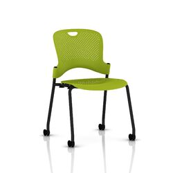Caper Stacking Chair With No Arms