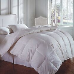 CASCADA Medium 50 White Goose Down/50 White Goose Feather Pillow
