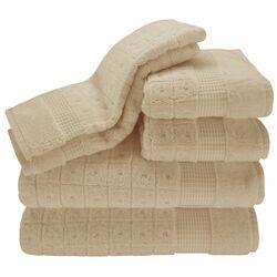 Contempo 6 Piece Towel Set in Lino
