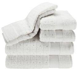 Contempo 6 Piece Towel Set in White