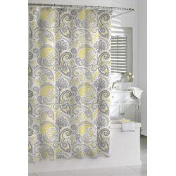 Cotton Paisley Shower Curtain