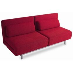Fabric Convertible Sofa