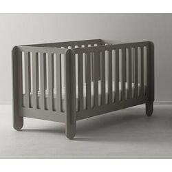 Elephant Crib in Grey